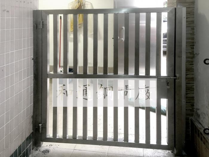 不鏽鋼攔腰閘