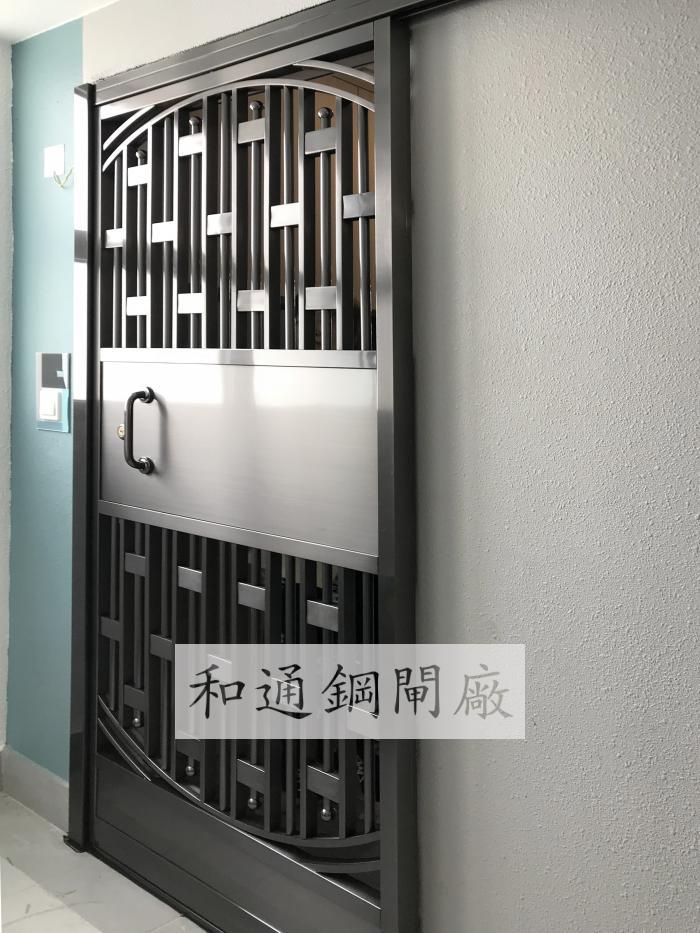 住宅電鍍單趟閘